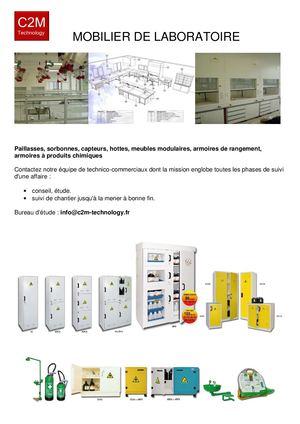 0ac2aae2eb6d3 Calaméo - Mobilier De Laboratoire