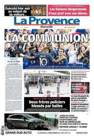 Calaméo - La Provence Edition De Marseille 10 09 2018 dce91bb7918b