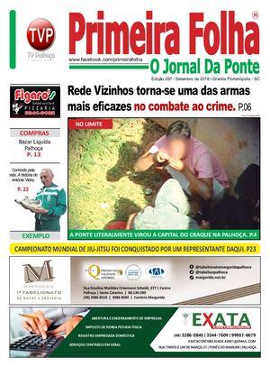 Calaméo - Edição 297 - Setembro De 2018   Jornal Primeira Folha 7e911f88ae