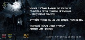Invitation Halloween A2J