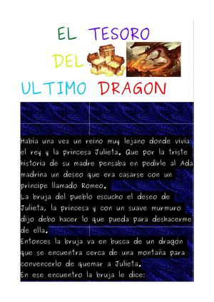 El Tesoro Del Ultimo Dragon