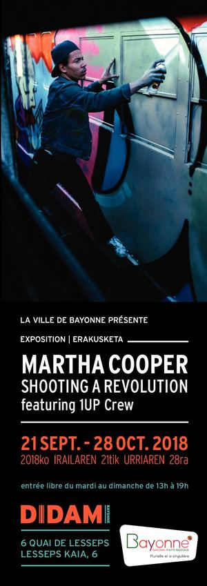 Expo Martha Cooper - Shooting a revolution