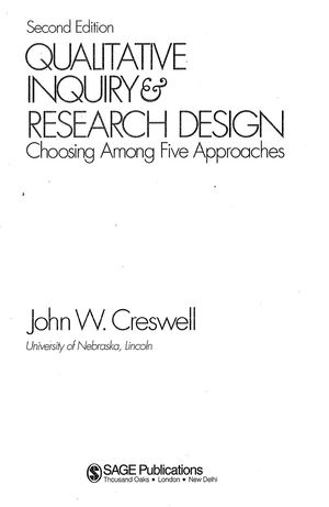 Creswel L Qualitative Inquiry And Research