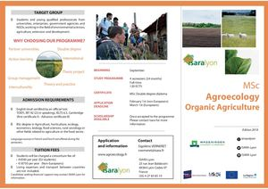 Flyer Msc Agroecology Vf