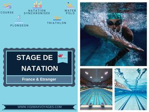 Catalogue Stage Natation