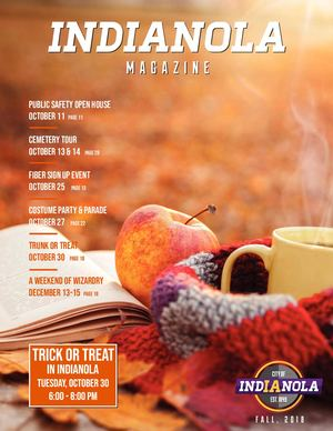 Indianola Magazine - Fall, 2018