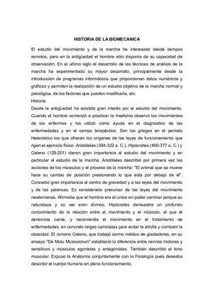 Calaméo - 1 Historia De La Biomecanica