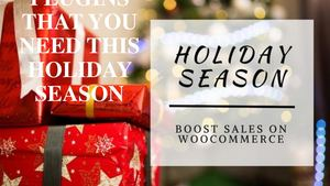 Woo Commerce Plugins That You Need This Holiday Season