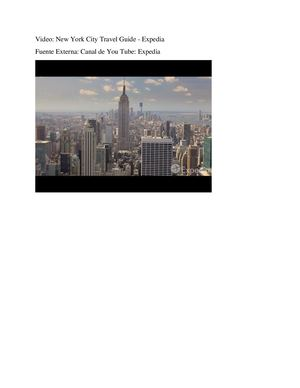 New York City Travel Guide (Video)