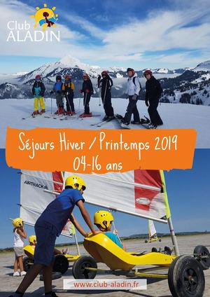 Catalogue Hiver Printemps 2019