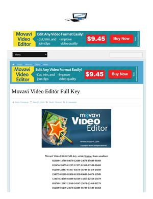 Verified 100% All Movavi Discount Coupon Code