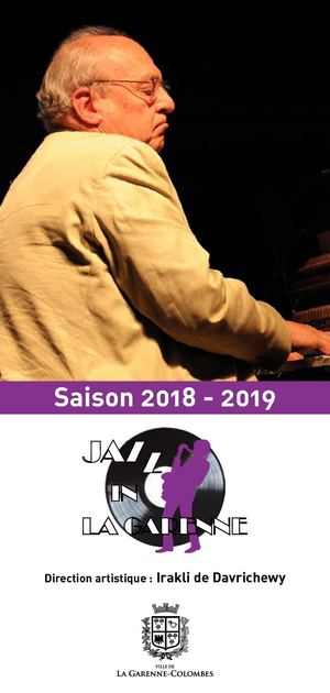 Jazz in La Garenne - Saison 2018/2019