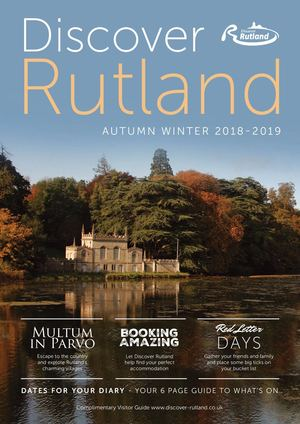 Discover Rutland Autumn Winter 2018-2019
