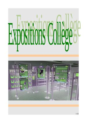Expositions College