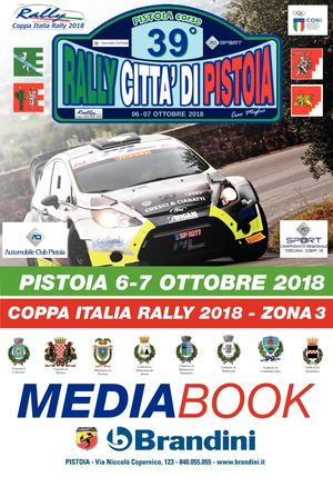 Media Book 39° Rally Citta' Di Pistoia 2018