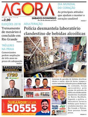b63ab1100 Calaméo - Jornal Agora - Edição 12159 - 29 e 30 de Setembro de 2018