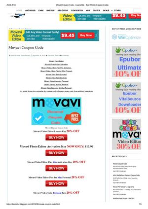 Movavi Coupon Code