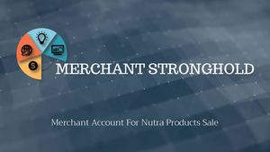 Merchant Account For Nutra Products Sale