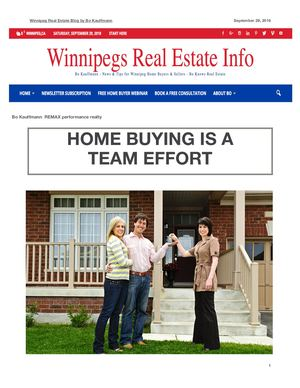 Home Buying is a Team Effort - Professionals for Home Buyers