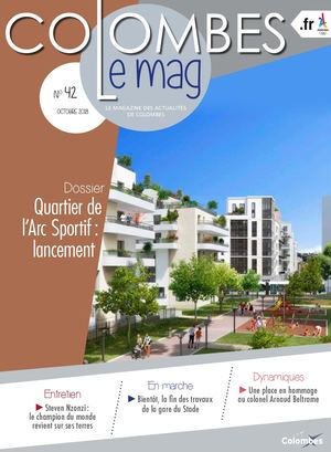 Colombes le Mag - octobre 2018
