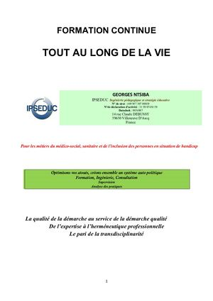 Catalogue de formation n°datadock : 0034897
