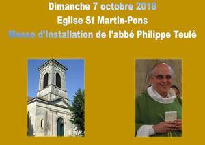 Messe D'installation De L'abbé Philippe Teulé