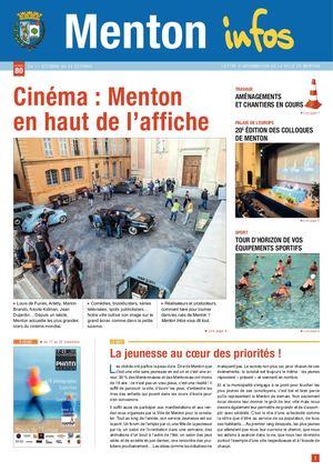MENTON INFOS N°80