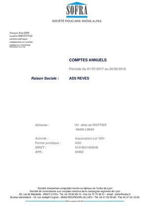 00936 Comptes Annuels Association Reves 30062018