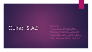 Cuinail S.a.s