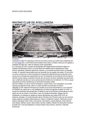 Racing Club De Avellaneda (1)