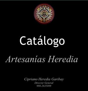 Catalogo Artesanias Heredia
