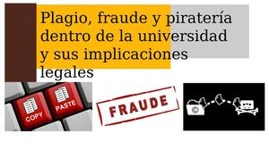 Revista Plagio Fraude Y Pirateria