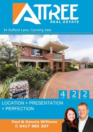 Rufford Lane 34, Canning Vale Buyer Booklet Pdw