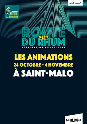 Route du Rhum - Destination Guadeloupe 2018 - Programme des animations