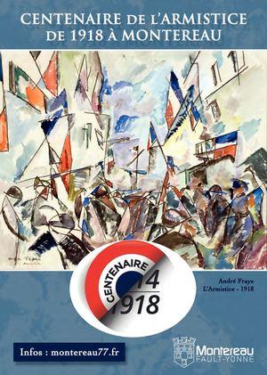 Centenaire de l'Armistice de 1918 - Montereau