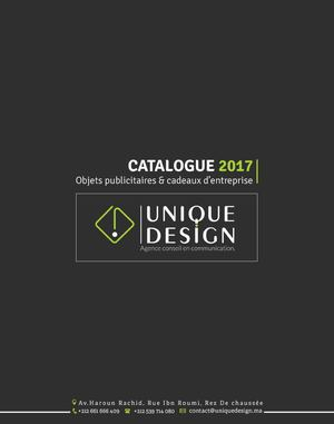 UniqueDesign - Catalogue Gadget Publicitaire
