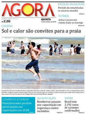 Calaméo - Jornal Agora - Edição 12174 - 18 de Outubro de 2018 fbff43d45e