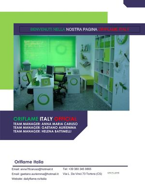 Oriflame Italy Official Presentation
