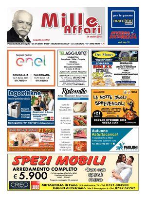 buy popular dcd64 20937 Milleaffari N° 41 del 24.10.18
