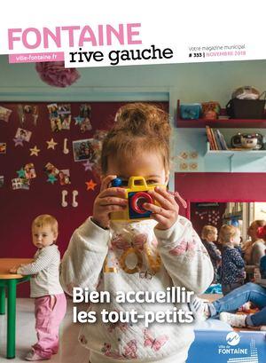 Fontaine Rive Gauche 333 Novembre 2018