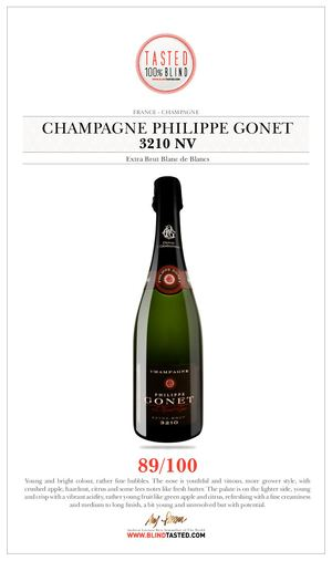 Champagne Philippe Gonet - 3210 NV - Extra Brut Blanc De Blancs