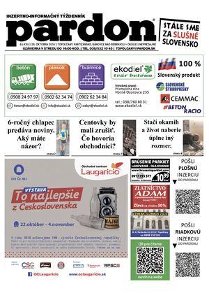 8ab1ae6e9316 Calaméo - Pardon Topoľčany 43 2018