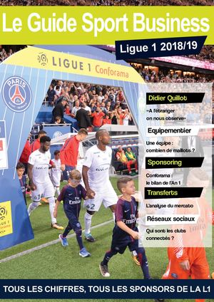 Le Guide Sport Business Ligue 1 - 2018/19