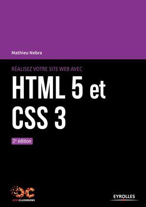 Calameo Realisez Votre Site Web Avec Html 5 Et Css 3