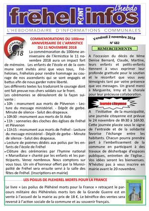 Journal municipal Fréhel.info du 2 Novembre 2018