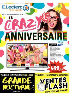 Calaméo E Leclerc Creutzwald Le Crazy Anniversaire 2018