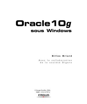 Oracle 10g sous Windows - TDM_Briard.pdf