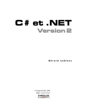 C# et .NET version 2 - TDM_Leblanc.pdf