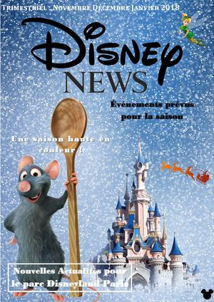 Journal Interne Disney Land Paris Wozniak Dorange