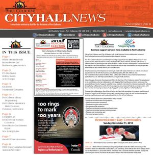 City Hall News November 2018